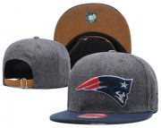 Wholesale Cheap NFL New England Patriots Team Logo Snapback Adjustable Hat L119