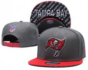 Wholesale Cheap Buccaneers Team Logo Gray Red Adjustable Hat TX