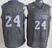 Wholesale Cheap Los Angeles Lakers #24 Kobe Bryant Black Rhythm Fashion Jersey