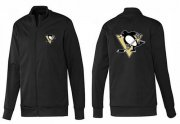Wholesale NHL Pittsburgh Penguins Zip Jackets Black-1