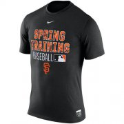 Wholesale Cheap San Francisco Giants Nike 2016 Authentic Collection Legend Team Issue Spring Training Performance T-Shirt Black