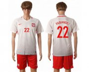 Wholesale Cheap Poland #22 Fabianski Home Soccer Country Jersey