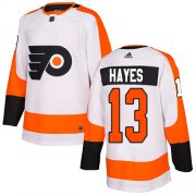 Wholesale Cheap Adidas Flyers #13 Kevin Hayes White Road Authentic Stitched Youth NHL Jersey