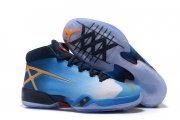Wholesale Cheap Air Jordan 30 XXX Marquette Blue/yellow-white