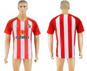 Wholesale Cheap Sunderland Blank Home Soccer Club Jersey