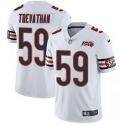 Wholesale Cheap Nike Bears #59 Danny Trevathan White Men's 100th Season Stitched NFL Vapor Untouchable Limited Jersey