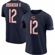Wholesale Cheap Chicago Bears #12 Allen Robinson Nike Player Pride Name & Number Performance T-Shirt Navy