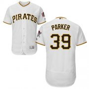Wholesale Cheap Pirates #39 Dave Parker White Flexbase Authentic Collection Stitched MLB Jersey