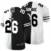Cheap Green Bay Packers #26 Darnell Savage Jr. Men's Black V White Peace Split Nike Vapor Untouchable Limited NFL Jersey