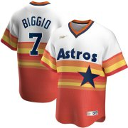 Wholesale Cheap Houston Astros #7 Craig Biggio Nike Home Cooperstown Collection Player MLB Jersey White