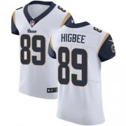 Wholesale Cheap Nike Rams #89 Tyler Higbee White Men's Stitched NFL Vapor Untouchable Elite Jersey