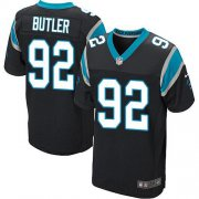 Wholesale Cheap Nike Panthers #92 Vernon Butler Black Team Color Men's Stitched NFL Elite Jersey