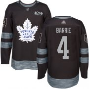 Wholesale Adidas Maple Leafs #25 James Van Riemsdyk Black 1917-2017 100th Anniversary Stitched NHL Jersey