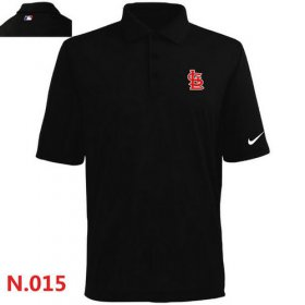 Wholesale Cheap Nike St.Louis Cardinals 2014 Players Performance Polo Black