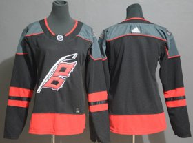 Wholesale Cheap Adidas Hurricanes Blank Black Alternate Authentic Stitched Youth NHL Jersey