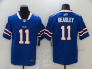 Wholesale Cheap Men's Buffalo Bills #11 Cole Beasley Royal Blue 2020 Vapor Untouchable Stitched NFL Nike Limited Jersey