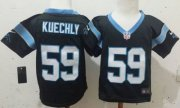 Wholesale Cheap Toddler Nike Panthers #59 Luke Kuechly Black Team Color Stitched NFL Elite Jersey