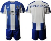 Wholesale Oporto Blank Home Soccer Club Jersey