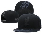 Wholesale Cheap San Antonio Spurs Snapback Ajustable Cap Hat GS 1