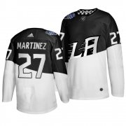 Wholesale Cheap Adidas Los Angeles Kings #27 Alec Martinez Men's 2020 Stadium Series White Black Stitched NHL Jersey