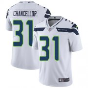Wholesale Cheap Nike Seahawks #31 Kam Chancellor White Men's Stitched NFL Vapor Untouchable Limited Jersey