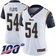 Wholesale Cheap Nike Rams #54 Leonard Floyd White Women's Stitched NFL 100th Season Vapor Untouchable Limited Jersey