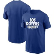 Wholesale Cheap Los Angeles Dodgers Nike Local Nickname T-Shirt Royal