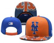 Wholesale Cheap New York Mets Snapback Ajustable Cap Hat YD