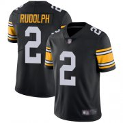 Wholesale Cheap Nike Steelers #2 Mason Rudolph Black Alternate Youth Stitched NFL Vapor Untouchable Limited Jersey