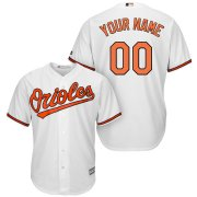 Wholesale Cheap Baltimore Orioles Majestic Cool Base Custom Jersey White