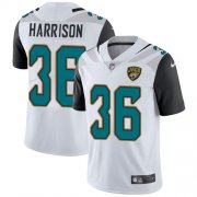 Wholesale Cheap Nike Jaguars #36 Ronnie Harrison White Men's Stitched NFL Vapor Untouchable Limited Jersey