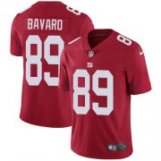Wholesale Cheap Nike Giants #89 Mark Bavaro Red Alternate Men's Stitched NFL Vapor Untouchable Limited Jersey