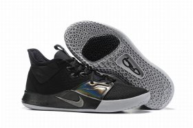 Wholesale Cheap Nike PG 3 Black Silver