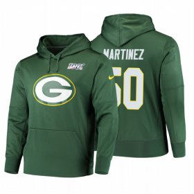 Wholesale Cheap Green Bay Packers #50 Blake Martinez Nike NFL 100 Primary Logo Circuit Name & Number Pullover Hoodie Green