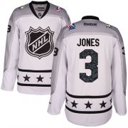 Wholesale Cheap Blue Jackets #3 Seth Jones White 2017 All-Star Metropolitan Division Stitched Youth NHL Jersey