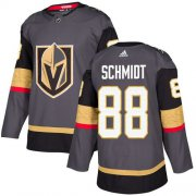 Wholesale Cheap Adidas Golden Knights #88 Nate Schmidt Grey Home Authentic Stitched NHL Jersey