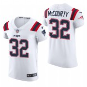 Cheap New England Patriots #32 Devin Mccourty Nike Men's White Team Color Men's Stitched NFL 2020 Vapor Untouchable Elite Jersey