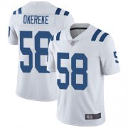 Wholesale Cheap Nike Colts #58 Bobby Okereke White Men's Stitched NFL Vapor Untouchable Limited Jersey