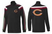 Wholesale NFL Chicago Bears Team Logo Jacket Black_1