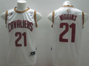 Wholesale Cheap Cleveland Cavaliers #21 Andrew Wiggins White Swingman Jersey