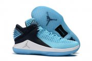 Wholesale Cheap Air Jordan 32 Low Win Like '82 Shoes UNC blue/Black-White