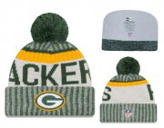 Wholesale Cheap NFL Green Bay Packers Logo Stitched Knit Beanies 017