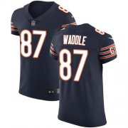 Wholesale Cheap Nike Bears #87 Tom Waddle Navy Blue Team Color Men's Stitched NFL Vapor Untouchable Elite Jersey