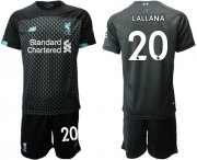 Wholesale Cheap Liverpool #20 Lallana Third Soccer Club Jersey