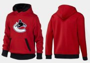 Wholesale Cheap Vancouver Canucks Pullover Hoodie Red & Black