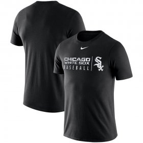 Wholesale Cheap Chicago White Sox Nike MLB Practice T-Shirt Black
