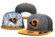 Wholesale Cheap St Louis Rams Snapbacks YD001