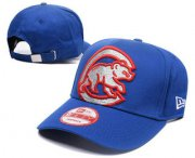 Wholesale Cheap MLB Chicago Cubs Snapback Ajustable Cap Hat GS 4
