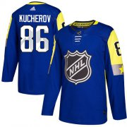 Wholesale Cheap Adidas Lightning #86 Nikita Kucherov Royal 2018 All-Star Atlantic Division Authentic Stitched NHL Jersey
