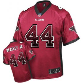 Wholesale Cheap Nike Falcons #44 Vic Beasley Jr Red Team Color Men\'s Stitched NFL Elite Drift Fashion Jersey